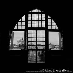 Tre Oci (Cristiano G. Musa) Tags: mostra venice bw italy panorama window canon blackwhite italia bn finestra venezia viaggio prex biancoenero citt 2014 sebastiaosalgado lucenaturale httpswwwfacebookcommgcphotographer mgcphoto