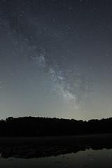 Milky Way (jcolemangphoto) Tags: sky lake reflection night canon way photography astrophotography milky 14mm 40d rokinon