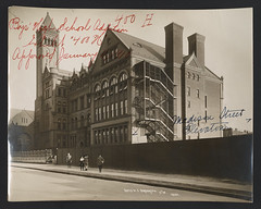 Boys High School in Brooklyn, architect C.B.J. Snyder, series 400, exhibit H, approved January 11, 1910. (Public Design Commission of the City of New York) Tags: new york city brooklyn bronx manhattan queens photograph publicschools cbjsnyder