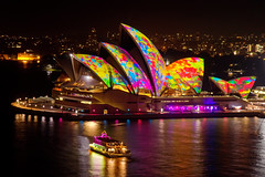 Vivid Sydney 2014 - Opera House (Kokkai Ng) Tags: longexposure travel light tourism lines ferry night dark design boat paint pattern space sydney multicoloured australia illuminated spots projection newsouthwales colourful psychedelic operahouse futuristic sydneyharbour sydneyoperahouse lightbeam brightcolour splotches sydneyaustralia traditionalfestival buildingexterior placeofinterest internationallandmark paintmarks paintspots builtstructure paintsplotches vividsydney splotchesofpaint