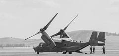 Osprey (Jarrett_Hunt) Tags: show air airforce tilt usaf vivitar osprey rotor cv22 vivitarseries1 d7000