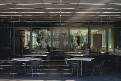 . (B R A N D) Tags: light sunset shadow sun chicago art museum modern canon illinois wing institute brand bluhm 2014 mrbluesky krisbrand 2014 familyterrace