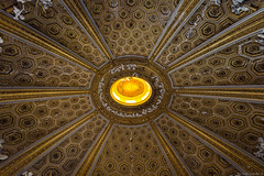 Dome of the Chiesa di Sant'Andrea al Quirinale (NykO18) Tags: italy rome roma art church woodwork europe faith religion manmade carvings lazio basrelief lowrelief viadelquirinale chiesadisantandreaalquirinale churchofsaintandrewsatthequirinal