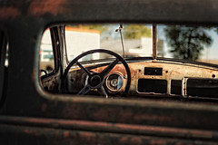 Glace into the past (Orcini) Tags: cars rust antiquecar vulcan dashboard andyshoot