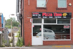 Pizza Time (SelmerOrSelnec) Tags: crescent takeaway salford pizzatime