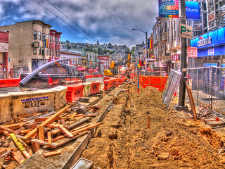 Castro Street Sidewalk Widening Project Update, HDR