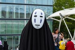 DSC_0510 (Gavin Clinton) Tags: london costume comic expo cosplay may away convention noface comiccon con mcm 2014 spirited kaonashi
