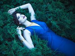 Madison (John. Blakey) Tags: blue portrait canada sexy beautiful beauty fashion female portraits canon hair model glamour winnipeg dress designer makeup jewelry manitoba brandt hairstylist 500px rejean ifttt