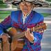 Mariachi Guitar player - Balboa Park, San Diego, CA