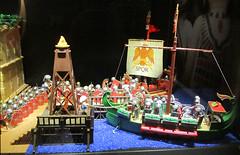 Speyer Playmobil Tour no40 (TimSpfd) Tags: rome museum toy roman egypt exhibit egyptian antony playmobil cleopatra speyer ptolemy brubil