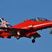 RAF Red Arrows Biggin Hill 2014 Red 8
