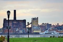 The Great Saunter-Domino Sugar Factory, 05.03.14 (gigi_nyc) Tags: nyc newyorkcity spring walk manhattan eastriver lowermanhattan dominosugar greatsaunter eastriveresplanade thegreatsaunter manhattangreenway