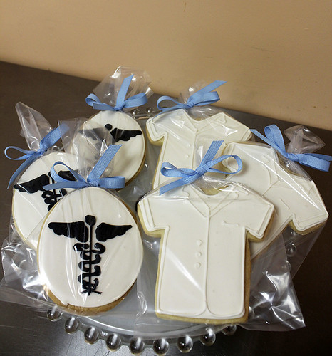 Doctor Labcoat Sugar Cookies