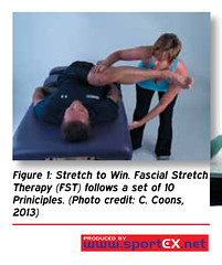 Stretch to Win. Fascial Stretch Therapy (FST) follows a set of 10 Principles. (sportEX journals) Tags: stretching rehabilitation fascia massagetherapy sportex sportsinjury sportsmassage sportexdynamics