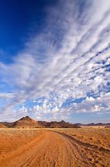 Road to Geisterschlucht (Johann van Heerden) Tags: road cloud klein formation vista aus namib