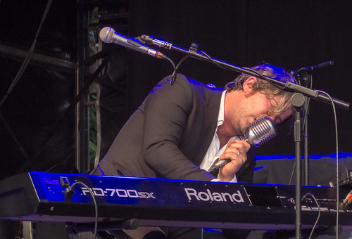 Ed Harcourt @ High Lodge, Thetford Forest,