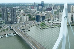 DSC_5231 (AperturePaul) Tags: netherlands skyscraper rotterdam nikon erasmusbrug erasmusbridge d600 southholland