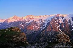 DSC_0552 (www.figedansletemps.com) Tags: lake grave fleurs montagne de la soleil noir plateau altitude coucher lac glacier grandes moutain lever oisans ecrins besse sommet meije bivouac rousses emparis