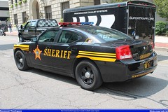 Cuyahoga County Sheriff Dodge Charger (Seluryar) Tags: county ohio memorial cleveland rally police cuyahoga motorcycle dodge annual sheriff 15th charger akron