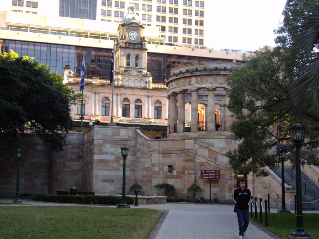 War Memorial in Brisbane.