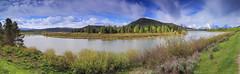 Grand Teton Panorama1 (Alex Hsieh ()) Tags: park summer canon grand roadtrip national teton grandteton 6d 2014 grandtetonnationalpark pakr