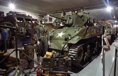 M3 Stuart tank (Ronald_H) Tags: leica holiday film museum tank military wwii stuart vehicle m3 normandy m2 2014