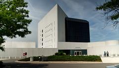 JFK Library Facade (PAJ880) Tags: boston facade ma library president jfk kennedy