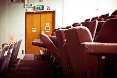 Abandoned Cinema (forayinto35mm) Tags: city uk england urban london abandoned film canon graffiti decay urbandecay citydecay projectionroom abandonedcinema canoneos5dmk2