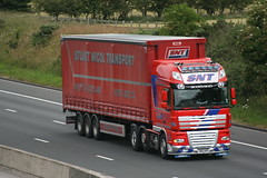 N60SNT  Stuart Nicol Transport, Shotts (highlandreiver) Tags: truck transport scottish stuart lorry cumbria carlisle m6 strathclyde daf lanarkshire nicol shotts wreay superspace n60snt