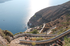 Santorini, Greece (MJR96) Tags: blue sea sun water island europa europe santorini greece ia oia cyclades