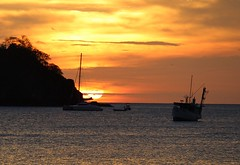 Playa Coco (hisdream) Tags: sunset sun boats costarica colours playacoco