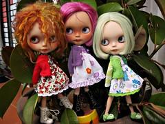 Margot,Morgana y Emily