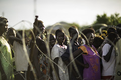 Women queuing for their charcoal vouchers (Oxfam International) Tags: women southsudan emergency oxfam unhouse idps humanitarianaid juba internallydisplacedpeople