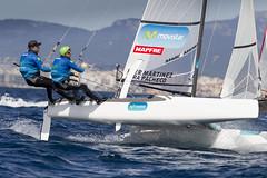 Iker&TaraNACRA Movistar © Maria Muiña/SailingShots