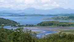 From Dunardry Forest across Loch Crinan (frcrossnacreevy) Tags: olympusem5 crinan riveradd soundofjura 1001nights 1001nightsmagiccity explored 219 autofocus