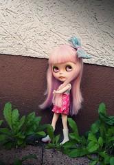Kaori my little monster (BlytheGirl123) Tags: toy robot doll blythe custom milky
