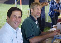 Board members Joe DiMauro and Ed Hein