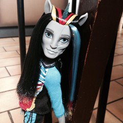 How can I compete with your perfection? (MyMonsterHighWorld) Tags: rot monster high doll zombie freaky fusion hybrid unicorn mattel 2014 zombicorn neighthan