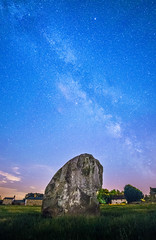 Milky Way over Avebury (Matt Bigwood) Tags: summer sky night way milky aveburystonecircle nikond800 samyang14mmf28