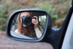 Wing Mirror Self Portrait (Jenny.Lawrence) Tags: portrait reflection self mirror sony wing a77 selfie slta77v