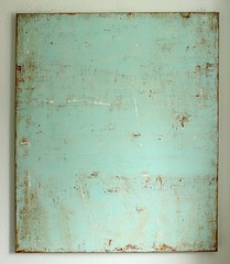 Bild_1386_rusty_mint_130_110_4_cm_mixed_media_on_canvas_2014_01 (ART_HETART) Tags: abstract art texture modern painting contemporary minimal canvas christianhetzel