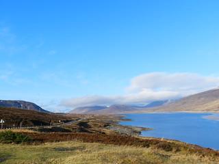 Loch Glascarnoch, Highlands of Scotland, Feb 2017