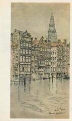 Anton Pieck- Bemin dan Amsterdam, 1948 ill Damrak huizen (janwillemsen) Tags: antonpieck amsterdam bookillustration 19451948