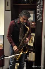 N2122857 (pierino sacchi) Tags: kammerspiel brunocerutti feliceclemente igorpoletti improvvisata jazz letture libreriacardano musica sassofono sax stranoduo