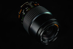 Rokkor MD Macro 100mm f/3.5 (westonde) Tags: vintagelenses vintagelens legacyglass lightpainting black industrialdesign lenses rokkor minolta