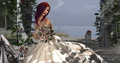 April Wedding - FabFree Photo Challenge (pulpfictionstudio) Tags: secondlife lumipro2017 fabfree free competition flowers beach alb challenge clawtooth