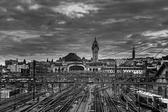 (G.Comte) Tags: limoges train station gare bénédictins limousin france patrimoine clouds 10stopfilter