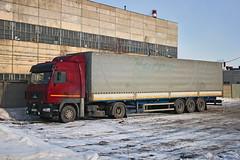 MAZ-5440  У 974 СУ 13 (RUS) (zauralec) Tags: kurgan baumanstreet курган maz5440 у 974 су 13 rus