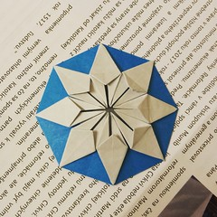 Some of my latest creations (Dasssa) Tags: origami paper paperain dasaseverova paperfolding colorchange star octagon