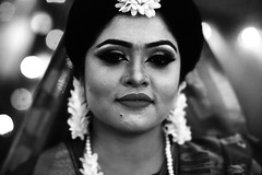 The Cousin Bride (N A Y E E M) Tags: sadia kalam cousin bride portrait gayeholud latenight lastnight annex building home rabiarahmanlane chittagong bangladesh availablelight indoors
